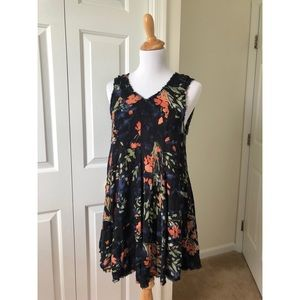 Urban Outfitters Ecote Floral Mini Dress